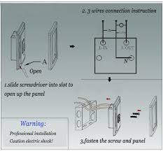 plastic materials motion sensor switch uk standard internal switch