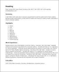 stylist and luxury qa tester resume 2 quality assurance sample