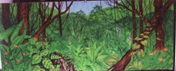 Jungle Backdrop Backdrop Jungle Green Left 20 Foot X 8 Foot T Rentals Ft Wayne In