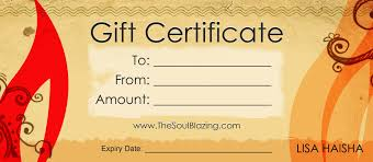 free printable gift certificates templates expense report template