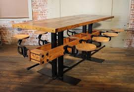 Industrial Bar Table Brilliant Industrial Bar Table With Pub Table Swing Out Seat Bar