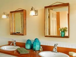 Wood Frames For Bathroom Mirrors Remarkable How To Make Frame For Bathroom Mirror How To Turn A