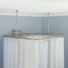 accessories ceiling mount curtain rods inside trendy curtain