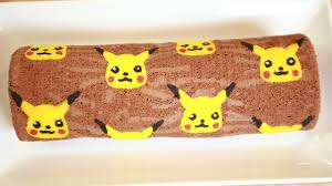 pikachu chocolate roll cake nerdy nummies youtube