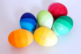 how to color easter eggs ombre dyed easter eggs two ways apartment therapy