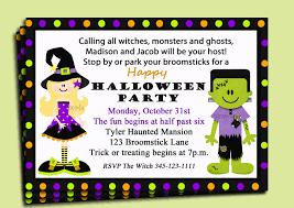 halloween themed birthday invitations birthday invitation letter for kids invitation librarry