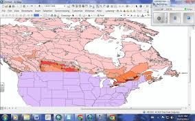 Edmonton Canada Map by Arcgis Canada Population Distribution Youtube