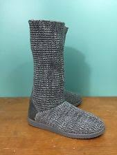 s sweater boots size 12 suede knee high boots s 12 us size ebay
