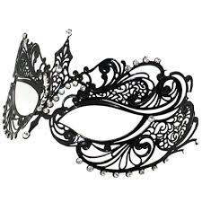black and white mardi gras masks 50x horror skull laser cut metal venetian mardi