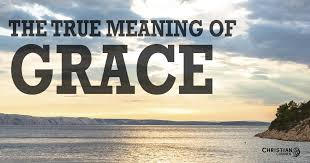 true meaning grace christian courier