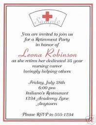 Retirement Invitation Wording Nurse Retirement Invitations Futureclim Info