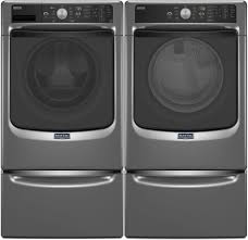 Front Loader Pedestal Maytag Mhw5500fc 27 Inch 4 5 Cu Ft Front Load Washer With