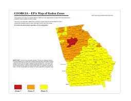 Radon Zone Map Resources