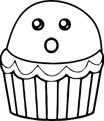 halloween cupcake coloring page wecoloringpage