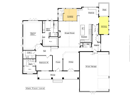 open floor house plans one story with island kitchen bath forafri