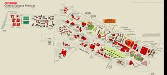 Wayne State Campus Map by North Carolina State University Campus Map The Edward B Fort