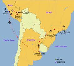 south america brazil argentina peru tours