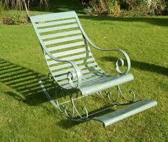 Garden Rocking Chair Uk Antiques Atlas Metal Rocking Chair