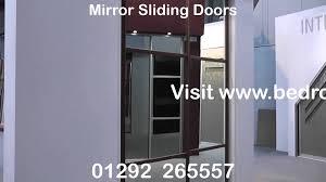 mirror sliding doors mirror sliding wardrobes youtube