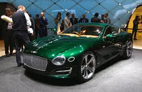 car bentley 2016 bentley to be fourth vw group brand to offer electric car