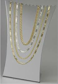 color necklace display images Jewelry display frosted bust necklace display y1308209 countertop jpg