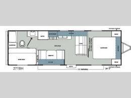 catalina rv floor plans used 2012 coachmen rv catalina santara series 271bh travel trailer