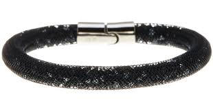 crystal mesh bracelet images Lyst swarovski stardust crystal filled mesh bracelet in black jpeg
