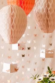 hot air balloon decorations diy hot air balloon party decor flax twine