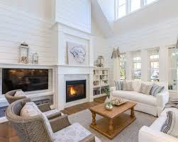 decorations wall mounted indoor fireplaces your daily shiplap fireplace ideas photos houzz