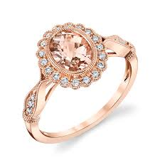 gold and morganite ring gold morganite ring master jewelers