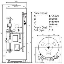 santon 94050344 250 litre santon premierplus pp250b sf28