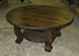 Rustic Round End Table Rustic Round Coffee Table Wood New Lighting Rustic Round