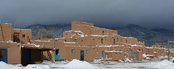 the wonder of taos pueblo in winter santa fe new mexico blog