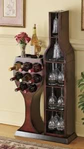 corner wine glass rack foter