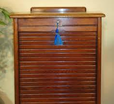 tambour fronted oak filing cabinet c 1930 u0027s antiques atlas