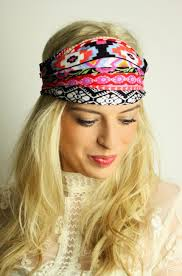 bandana hippie haarband mit aztekenmuster the wrap haarband headband
