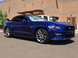 convertible jeep blue 2015 mustang gt convertible deep impact blue and it does look like