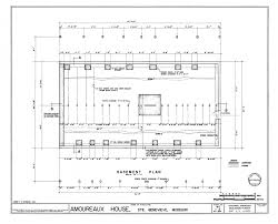 Floor Plan For Houses by Foundation Plans For Houses In Filebasement Floor And Structural