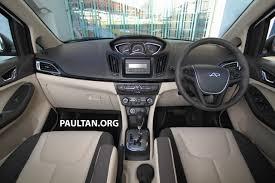 mpv car interior gallery new chery mpv u2013 world debut in malaysia image 304303
