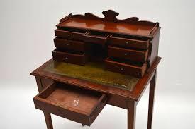 Small Vintage Desks by Small Antique Victorian Mahogany Escritoire Desk Marylebone