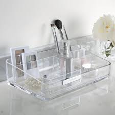 Bathroom Makeup Storage Ideas by Bathroom Crystal Makeup Cosmetics Storage Case Container Font B