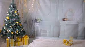 House Decoration For New Year christmas background room decorated for new year christmas