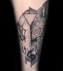 53 latest wolf skull tattoo designs with traditional ideas
