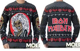 iron maiden s jumper is metal af 96fm experience the