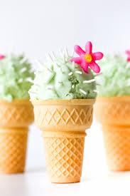 ice cream emoji movie cactus ice cream cones studio diy