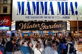 nyc nyc mamma mia the broadway musical celebrates its 10th
