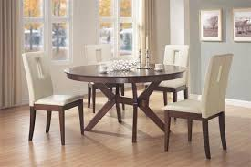Contemporary Round Dining Room Tables Inspiring Good Dining Table - Kitchen and dining room furniture