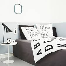 abc bed linen by design letters in the shop