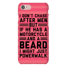 i don t chase after men but if he has a motorcycle and a beard