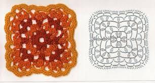 tutorial piastrelle uncinetto schemi uncinetto piastrelle quadrate coperte patchwork manifantasia